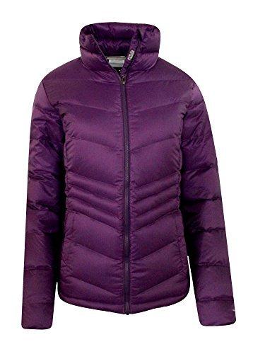 Columbia Women's Polar Freeze Ski Down Jacket Omni Heat Winter Coat (M, Iris Glow) -
