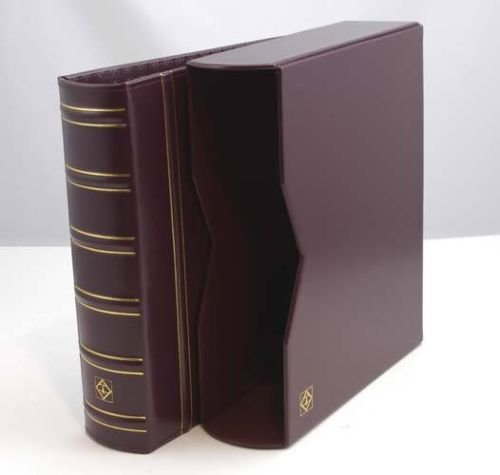 Lighthouse Vario-G Classic Binder with Slipcase, Burgundy -