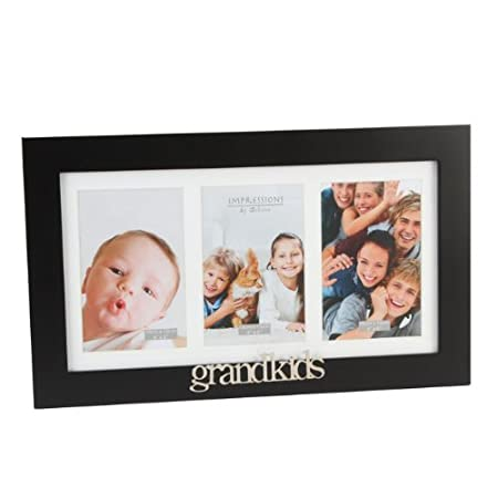Triple Wooden Photo Frame Moments Grandkids
