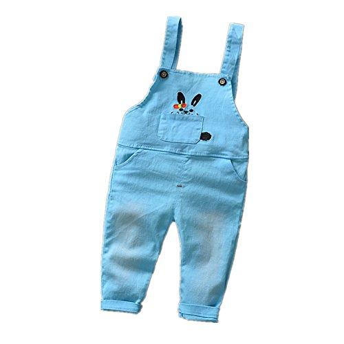 ftsucq-little-boys-girls-cartoon-bunny-overalls-suspender-trousersblue-100