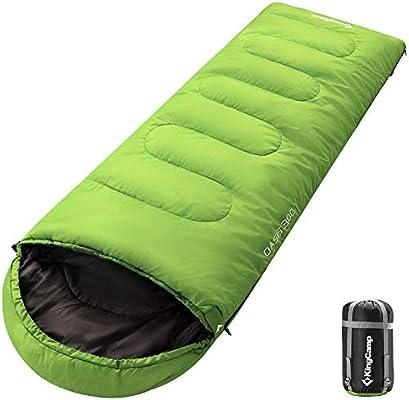 KingCamp Oasis Saco de Dormir de 3 Estaciones 4 Tamaños ...