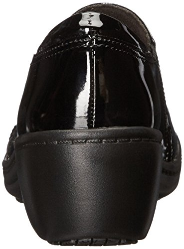 Patent CLARKS Black Womens On Chime Black Loafer Slip Grasp w4q8Uz