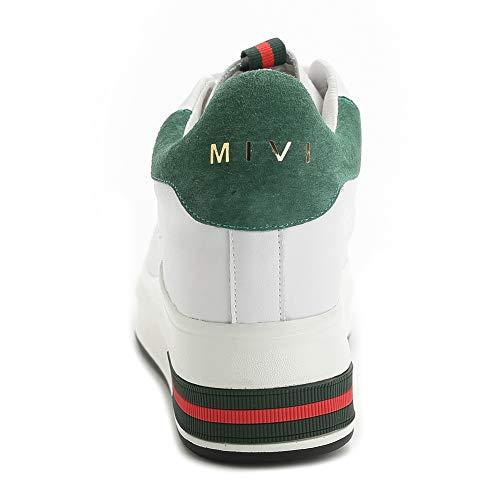 Femme Green Sandales Compensées APL10904 BalaMasa twqX01Tw