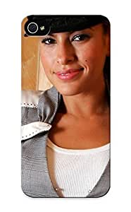 Freshmilk Durable Defender Case For Iphone 5/5s Tpu Cover(eva Mendes (201) ) Best Gift Choice