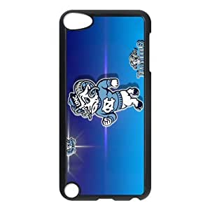 Customize Famous NCAA Basketball Team North Carolina Tar Heels Back Case for ipod Touch 5