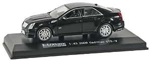 LUXURY DIECAST 1/43 Cadillac CTS-V Black LDC100457