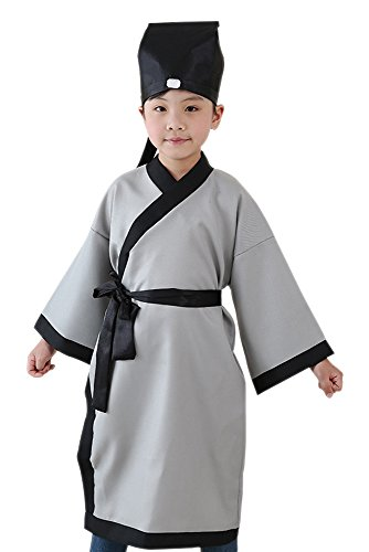 BOZEVON Ancient Chinese traditional clothing, children's boys and
