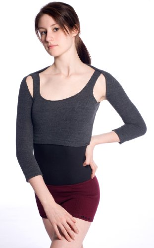 Stretch Knit Bolero by KD dance de Nueva York diseñado para Dancers by Dancers Total Libertad de movimientos Líneas de Sharp Azul azul marino extra-large