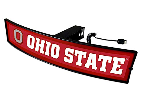Ohio State Buckeyes Light Up Hitch Cover