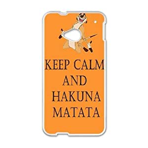 HTC One M7 cell phone cases White Hakuna Matata fashion phone cases JY3493137