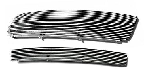 2006-2012 Ford Ranger Billet Grille Grill Combo Upper+Lower Insert # F87912A (2006 Ford Ranger Grill Emblem)
