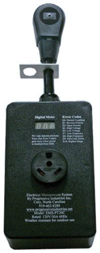 Progressive Industries EMS-PT30C Portable EMS RV Surge Protector - 30 Amp