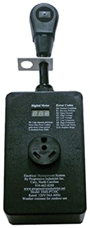 Progressive Industries SSP-30XL Surge Protector with Cover - 30 Amp 0313.1163