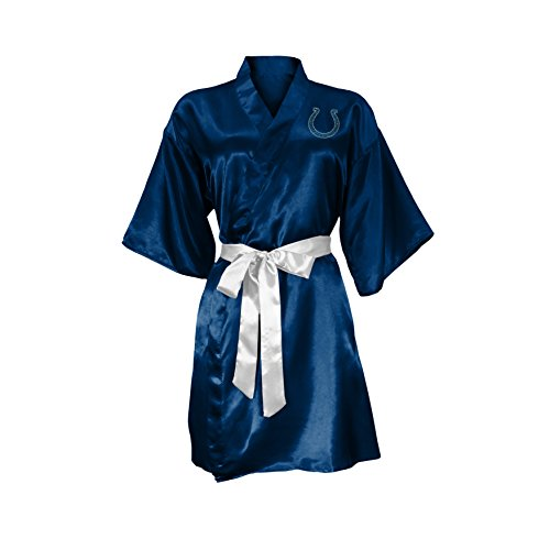 Littlearth NFL Indianapolis Colts Satin Kimono Large/XL  sc 1 st  Information.com & Best Deals on Colts Robe Products