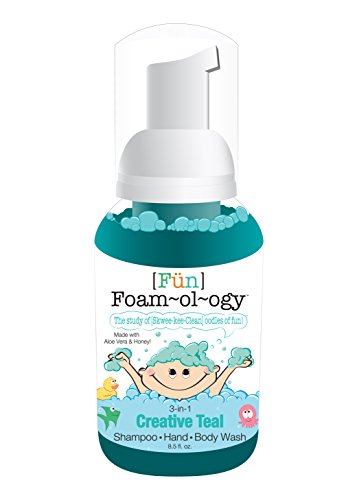 [Fün] Foam-ol-ogy Shampoo Hand Body Wash Creative Teal 8.5 Fl Oz