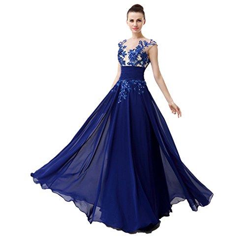 Amazon.com: Engerla Women's Straps Lace Applique Flower Empire ...