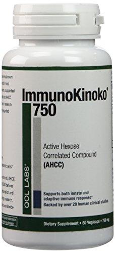 Labs ImmunoKinoko 750 60 (Glucan 1000 Mg 60 Capsules)