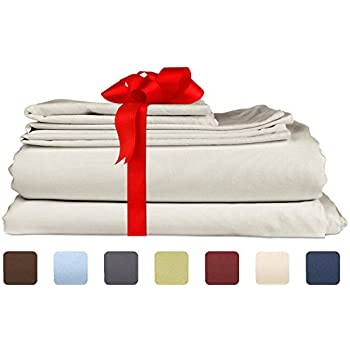 queen size sheet set 4 piece set hotel luxury bed sheets extra soft