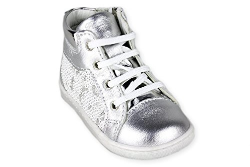 CAPRALA hohe Sneaker Primigi zus. Reißverschluss Silber