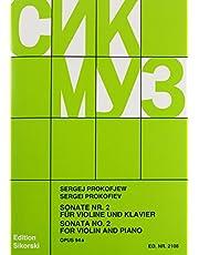 Sonata No. 2, Op. 94a: Violin and Piano