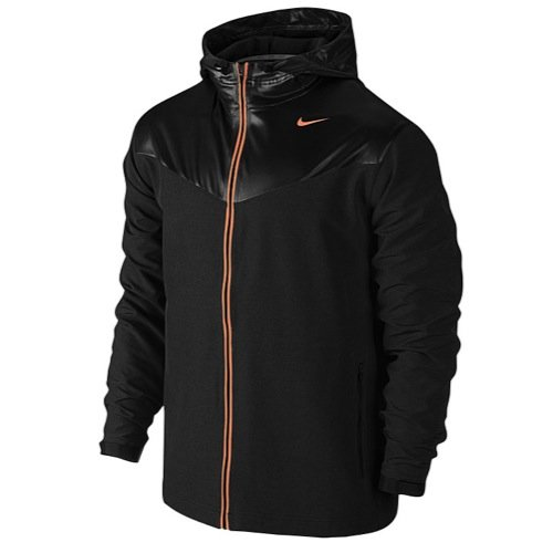 Nike Men's Sweatless Hooded Training Jacket-Dark (Nike Tennis Warm Up Pant)