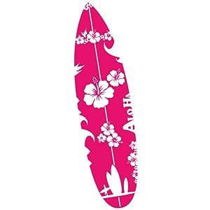 Wandkings Surfbrett Hawaii Wandtattoo - Farbe und Größe wählbar