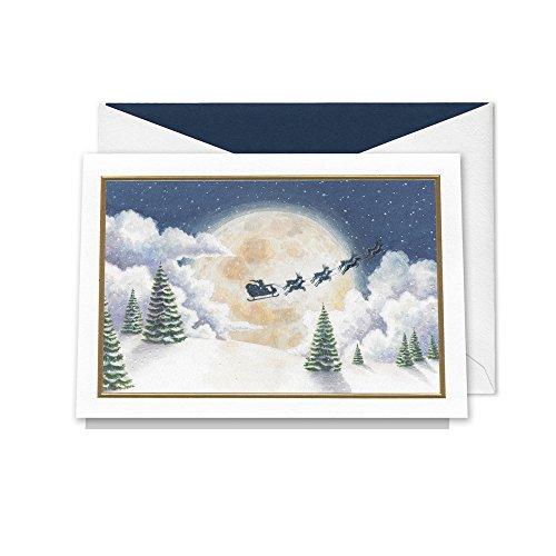 William Arthur Christmas Magic Boxed Greeting Cards, 10 Cards w/lined envelopes (Envelopes Arthur William)