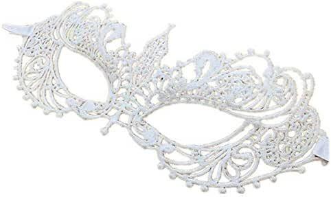 ALIN white lace Mask, makeup ball party eye Mask
