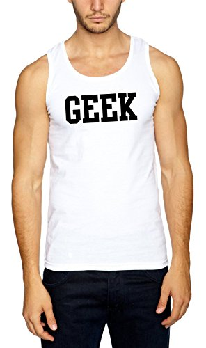 GEEK Muscleshirt White