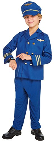 Jet Set Pilot Child Costume (4-6)