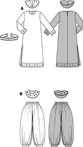 burda 2497 patrón de costura para disfraz: hinchable, accesorio princesa: Amazon.es: Hogar