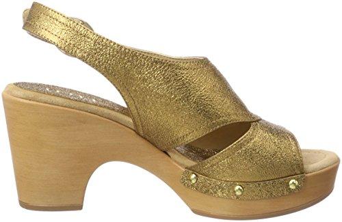 Unisa Ontil_Se, Sandali Punta Aperta Donna Oro (Old Gold)