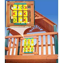 Tic - Tac - Toe Spinner Pannel