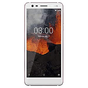 Nokia 3.1 – Android 9.0 Pie – 16 GB – Dual SIM Unlocked Smartphone (AT&T/T-Mobile/MetroPCS/Cricket/Mint) – 5.2″ Screen – White – U.S. Warranty