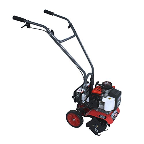 GardenTrax Y2007E Electric Start Two Cycle Garden Cultivator