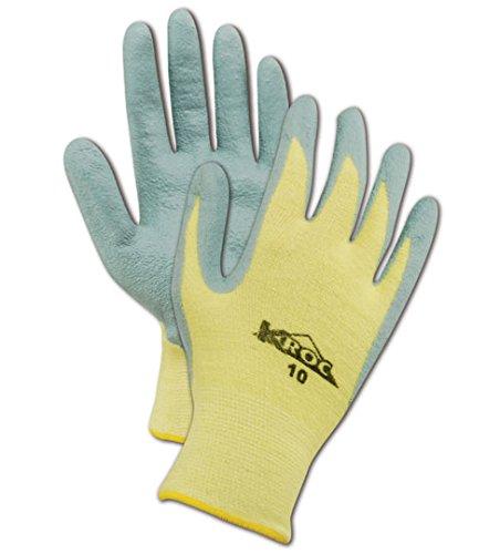 Magid KEV43199 K-ROC Kevlar Blend Foam Nitrile Gloves, Cut Level 2, 9, Yellow (Pack of 24) by MAGID  B01ET9DQT4