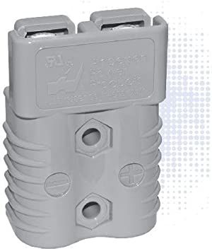 5 pieces Heavy Duty Power Connectors SB120 HOUSING ONLY GRAY BULK