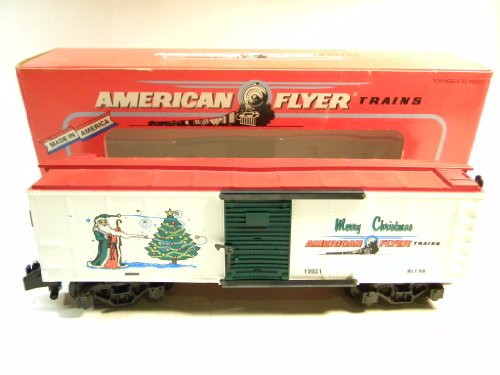 American Flyer 48325 1996 Christmas Box Car S Gauge for sale  Delivered anywhere in USA