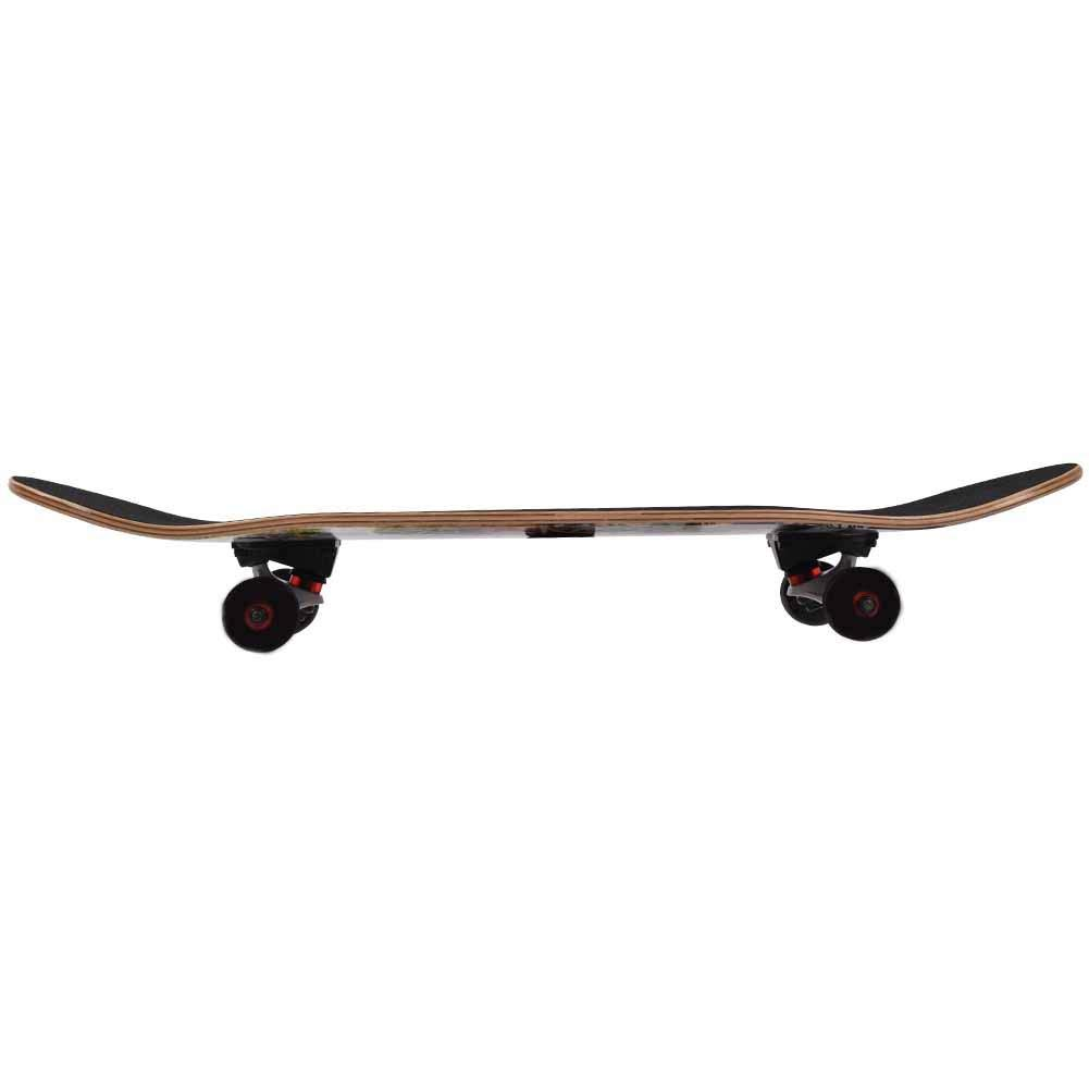 Fafeims Tabla de Skate de Arce de 4 Ruedas Tabla de Skate Profesional Baile Longboard para Entretenimiento