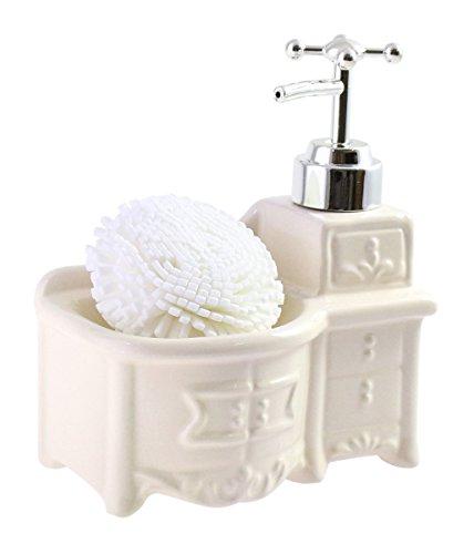 JustHome Pretty Ceramic Dispenser Sponge product image