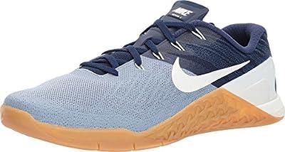 Nike Men's Metcon 3 Training Shoe Glacier Grey/Sail/Binary Blue Size 10.5 M US