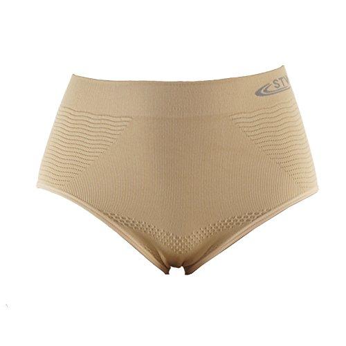 11bf7e80243c Trifolium Pants Seamless Waist Firm Tummy Control Shaper Magic Knickers  Briefs STV 8057