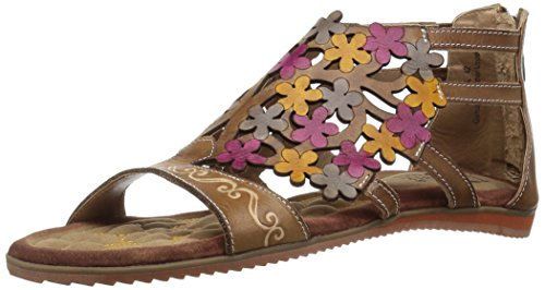 Women's L'Artiste, Maribel Gladiator Gladiator Maribel Sandals TAUPE 3.6 M B07BL18NS7 Shoes 22061a