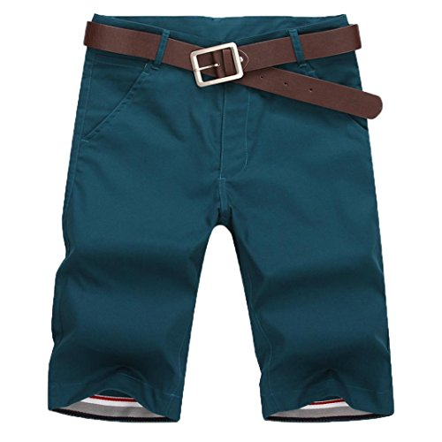 Mens Macys Ties (iZHH Mens New Sports Breathable Fashion Pants Summer Fitness Running Pants(Blue,29))