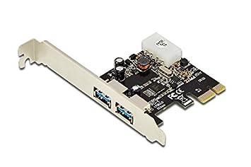 PCIe Gigabit Ethernet Netzwerkkarte 1x RJ45 LAN DIGITUS Interface Karte Single-lane mit bis zu 2,5 Gbit//s Low Profile Slotblende Chipsatz: Realtek RTL8168E inkl