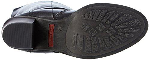 Tamaris 25546 - botas de caño alto de cuero mujer negro - negro