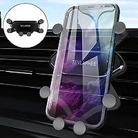 Tevlaphee Handyhalterung Auto, Handyhalter fürs Auto, 360 Grad Drehung, 4,7-6,5Zoll KFZ Handy Halterung, Einzigartiges...