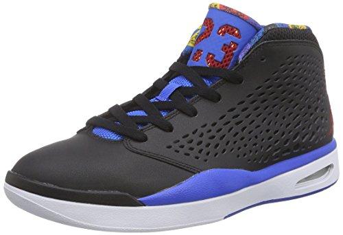 Nike Jordan Flight 2015 Zapatillas de deporte, Hombre Negro / Rojo / Blanco (Black/Gym Red-Soar-White)
