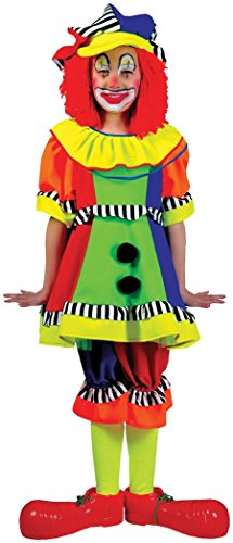 Spanky Stripes Adult Clown Costumes - Short Sleeved Spanky Stripes Clown Costume,