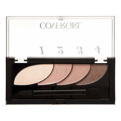 COVERGIRL Eye Shadow Quads, Notice Me Nudes 700, 0.06 Oz